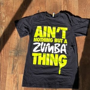 Unisex Ain't Nothing but a Zumba Thing Tee